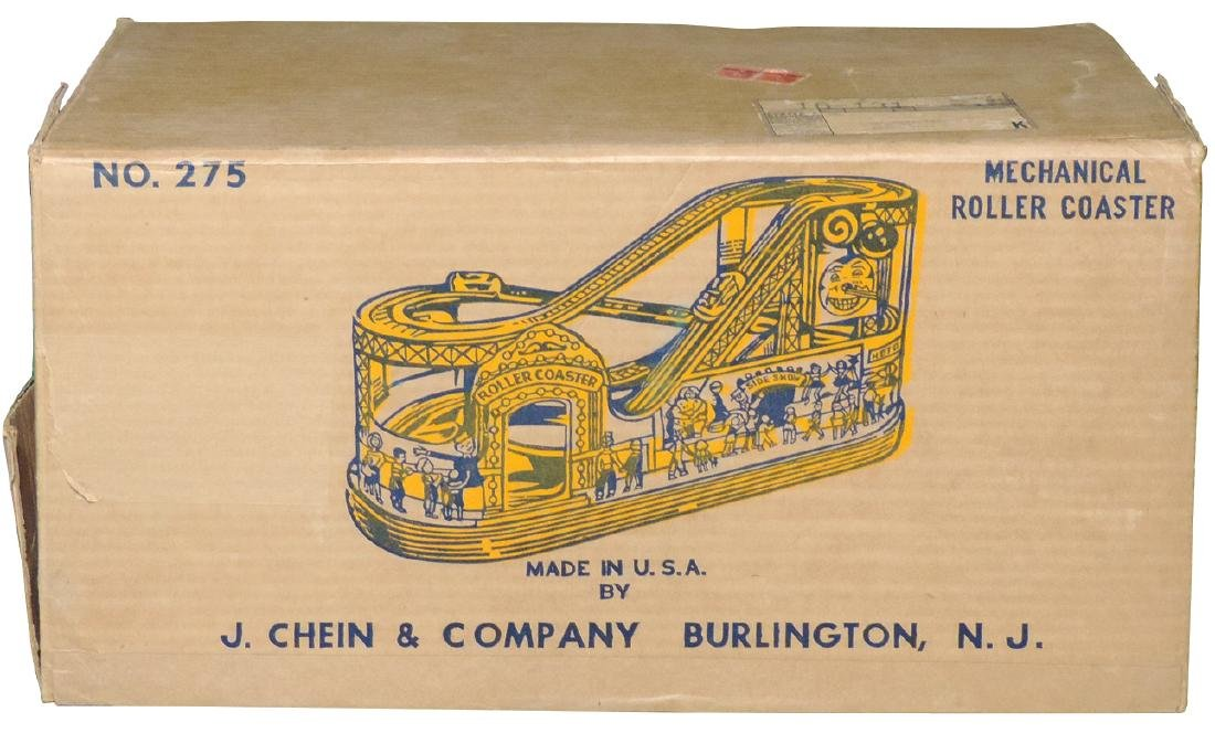 Toy, No. 275 Mechanical Disneyland Roller Coaster w/2