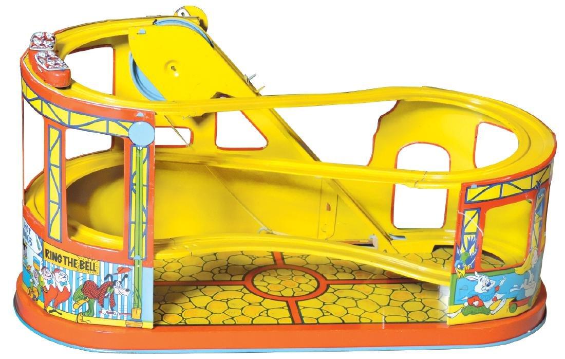 Toy, No. 275 Mechanical Disneyland Roller Coaster w/2 - 2