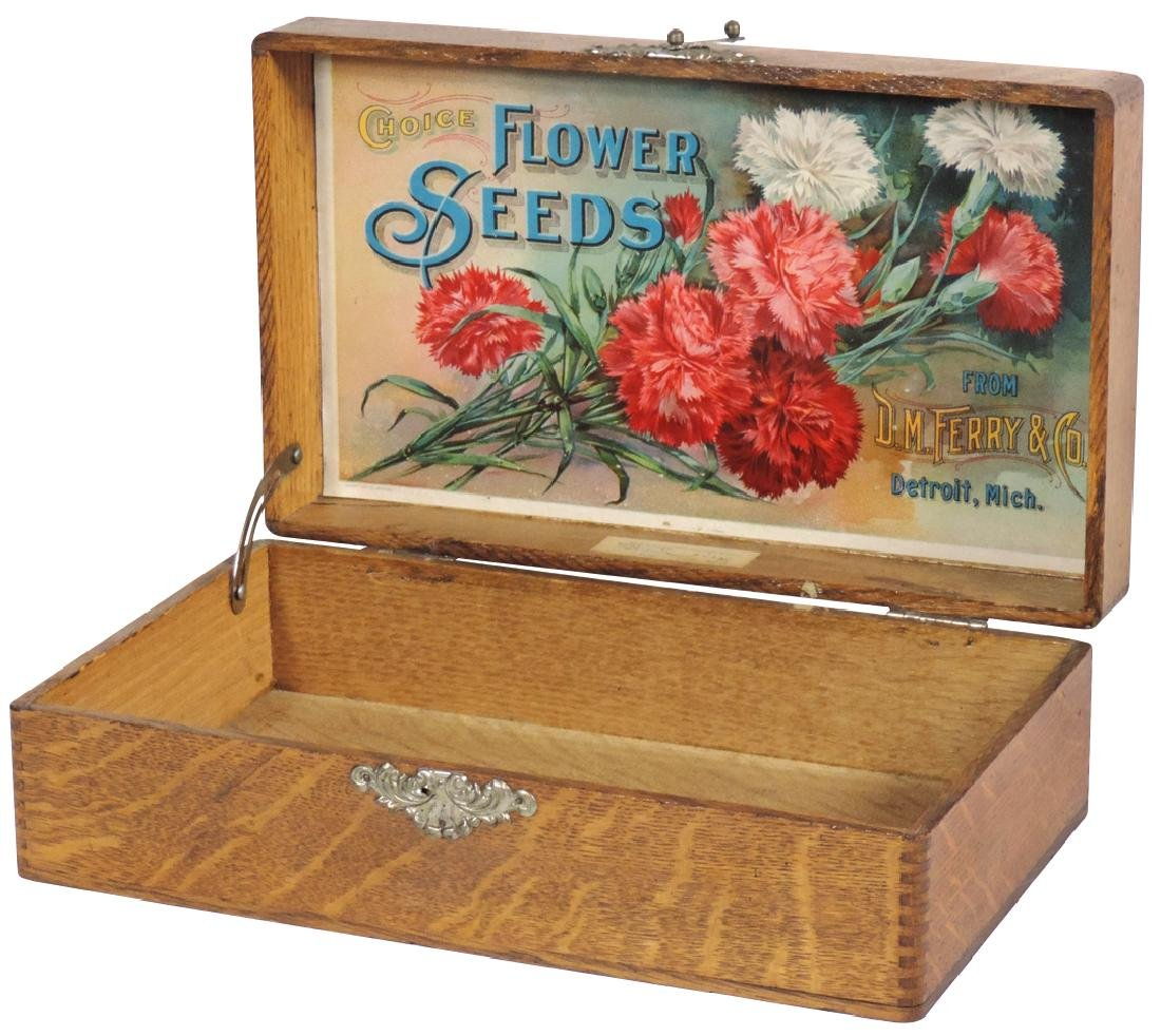 Country store flower seed box, D.M. Ferry & Co. Choice