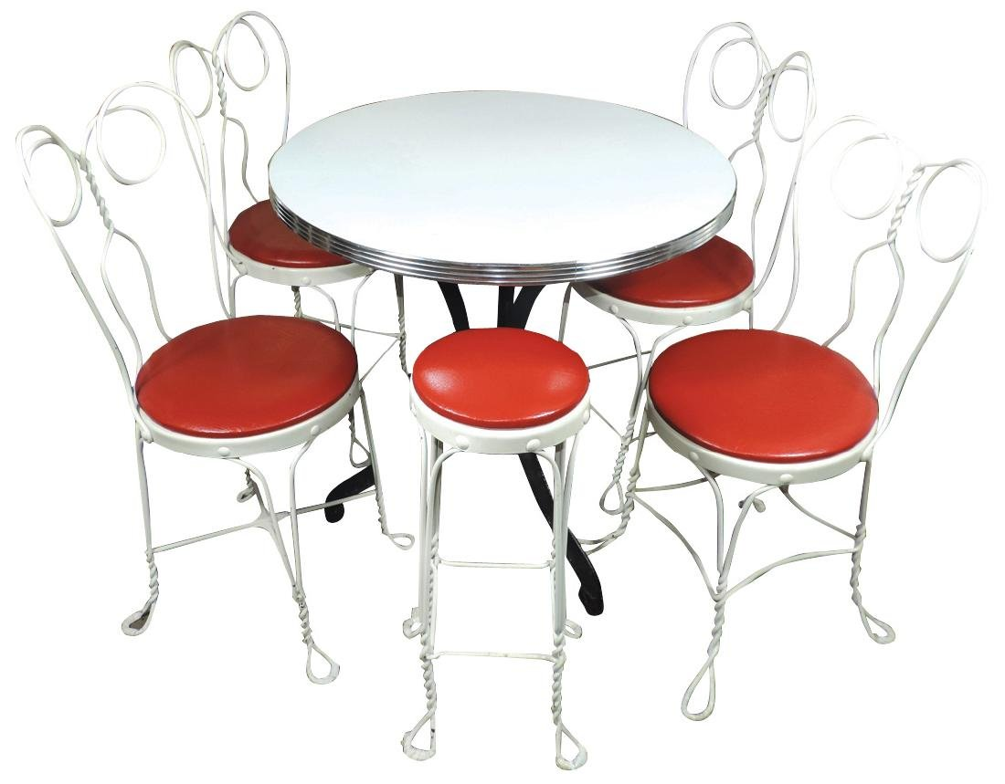 Fountain Table Chairs () Stool Table Has
