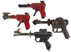 Toy guns (4), Buck Rogers Atomic Ray Gun, Daisy Buck