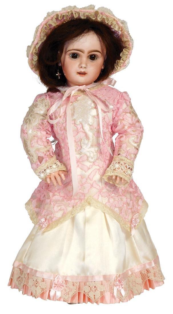 """Doll, Jumeau Bebe, stamped """"Depose Tete Jumeau 8"""" in"""