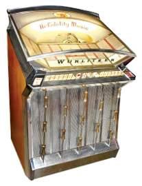 Coin-operated jukebox, Wurlitzer, Model 2504, c.1961,