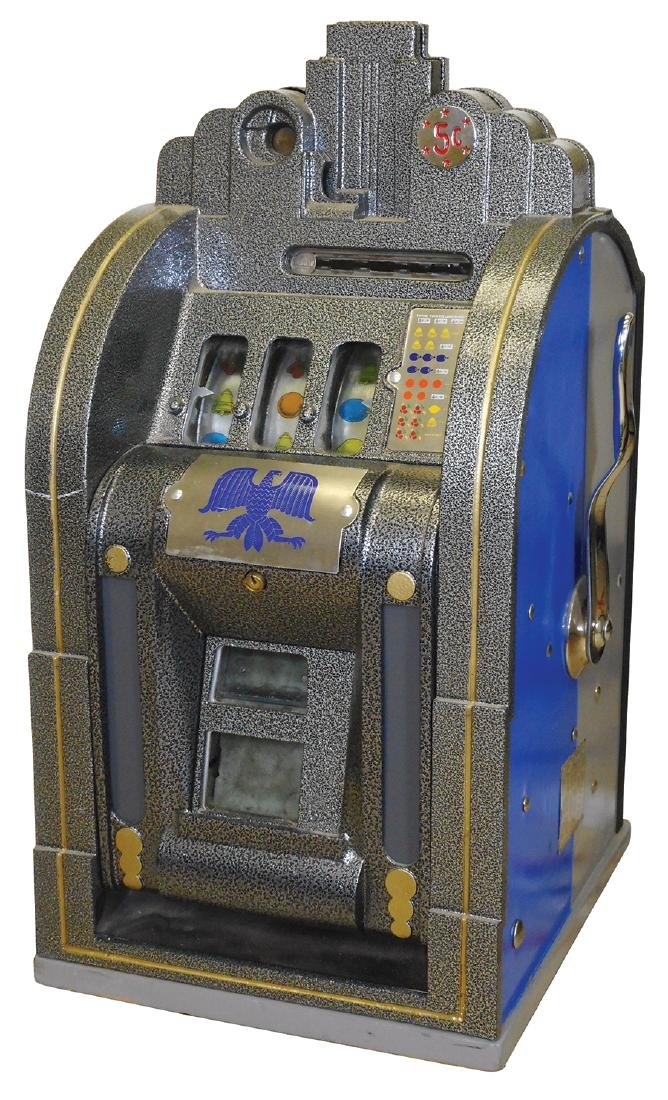 Coin-operated slot machine, Mills Extraordinary