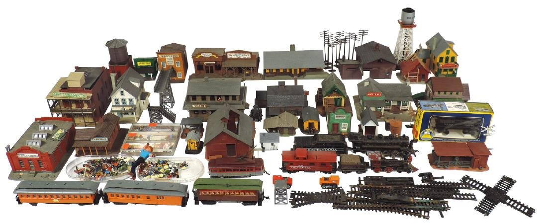 Toy train accessories, Tyco-Kit, AHM, Pola & other