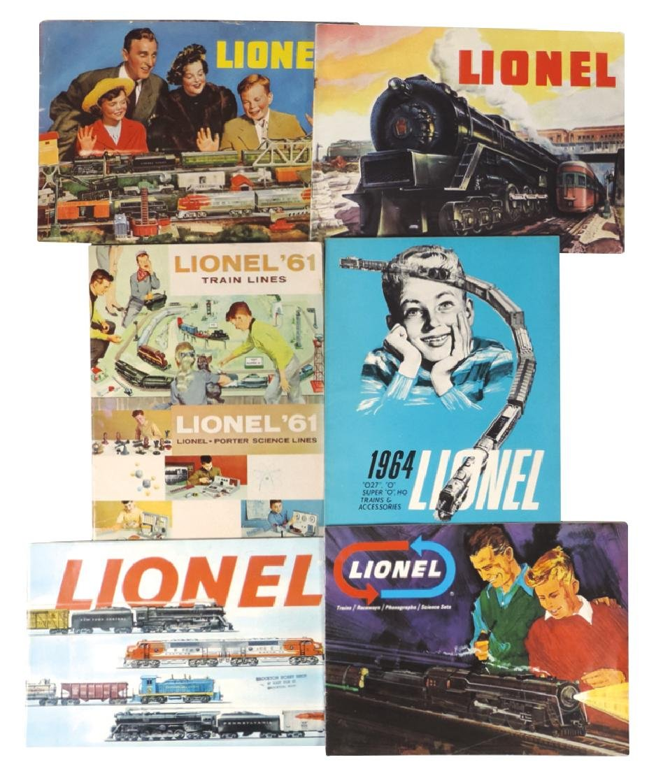 Toy train catalogs & accessories (16), Lionel '48, '49 - 2