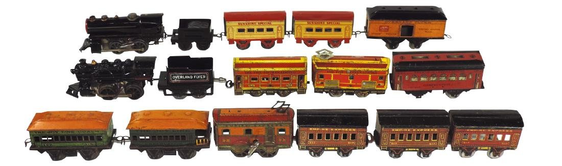 Toy trains (16 pcs), Empire Express engine #7, 3 #517