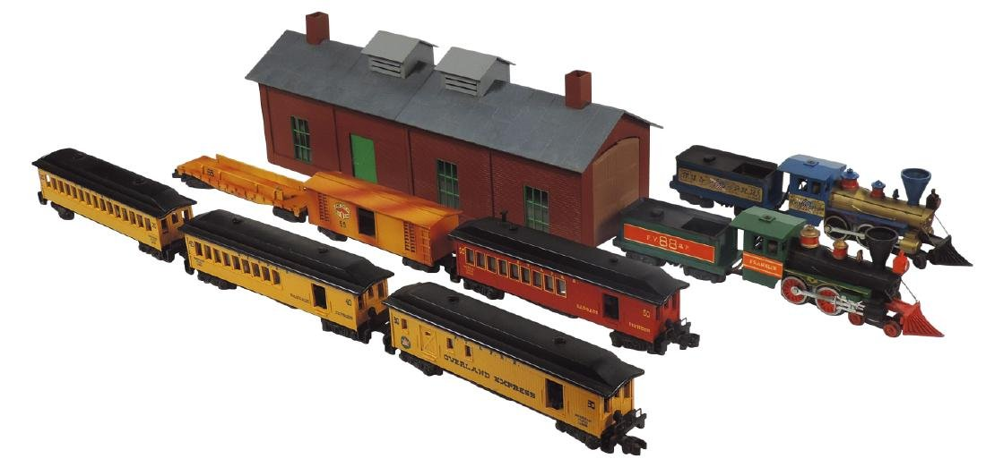 Toy trains, American Flyer, Engines FY & PPR, FY & P &