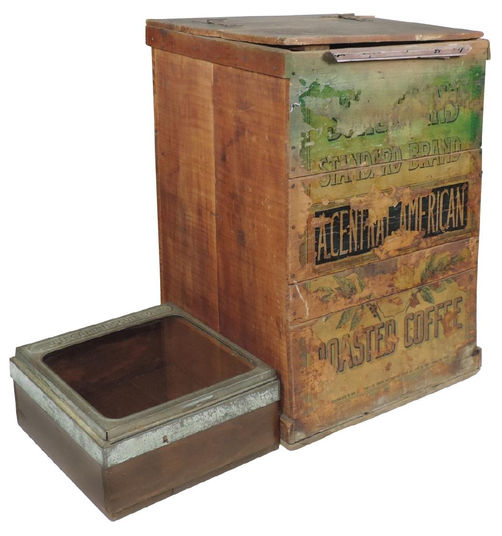 Country store coffee bin, Standard Brand Roasted