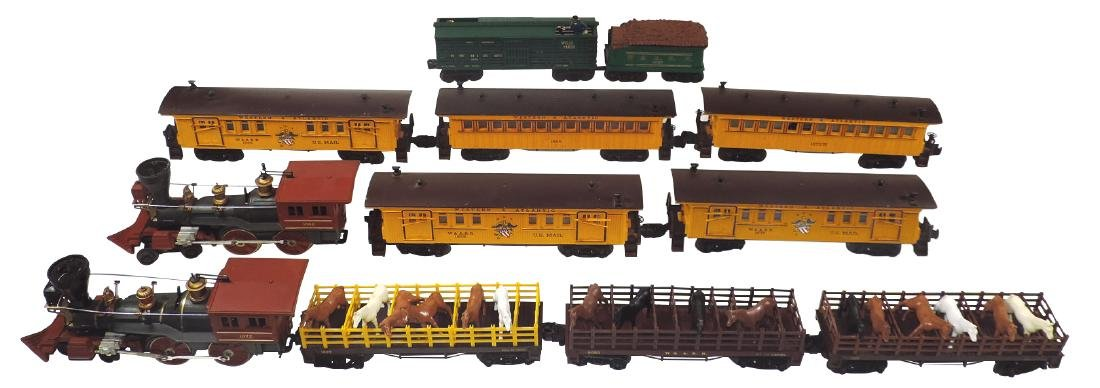 Toy trains (2), Lionel, includes engine 1872,