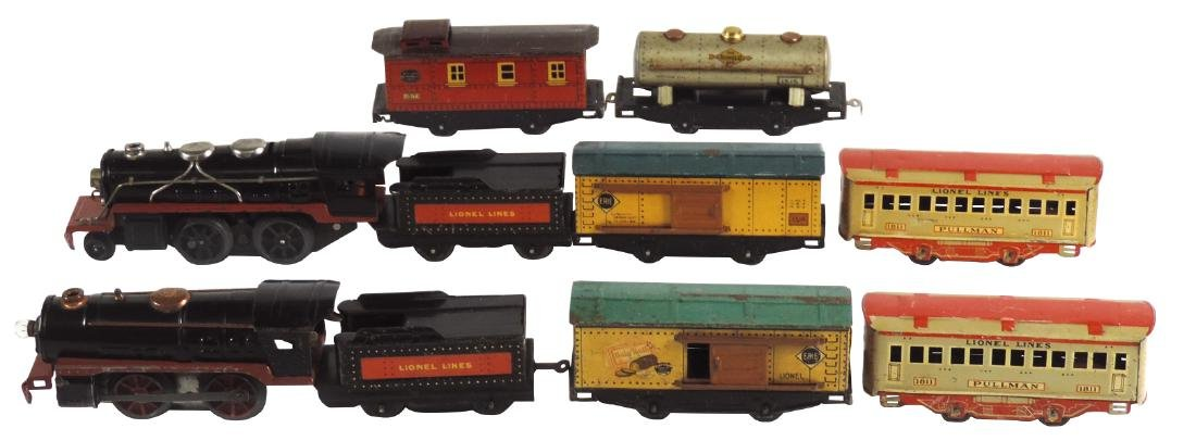 Toy trains (2), Lionel Lines, includes 2 engines, 2