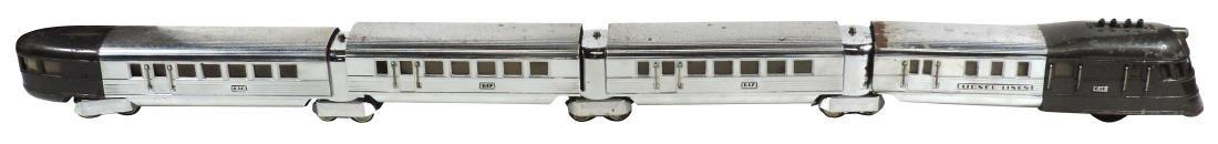 """Toy train, Lionel Flying Yankee, """"O"""" gauge, loco 616, 3"""