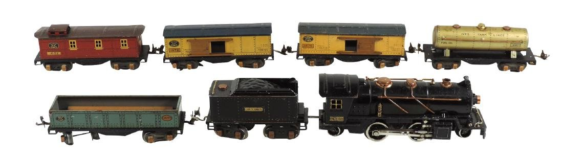 Toy train, Lionel, cast iron loco 262 (missing small pc
