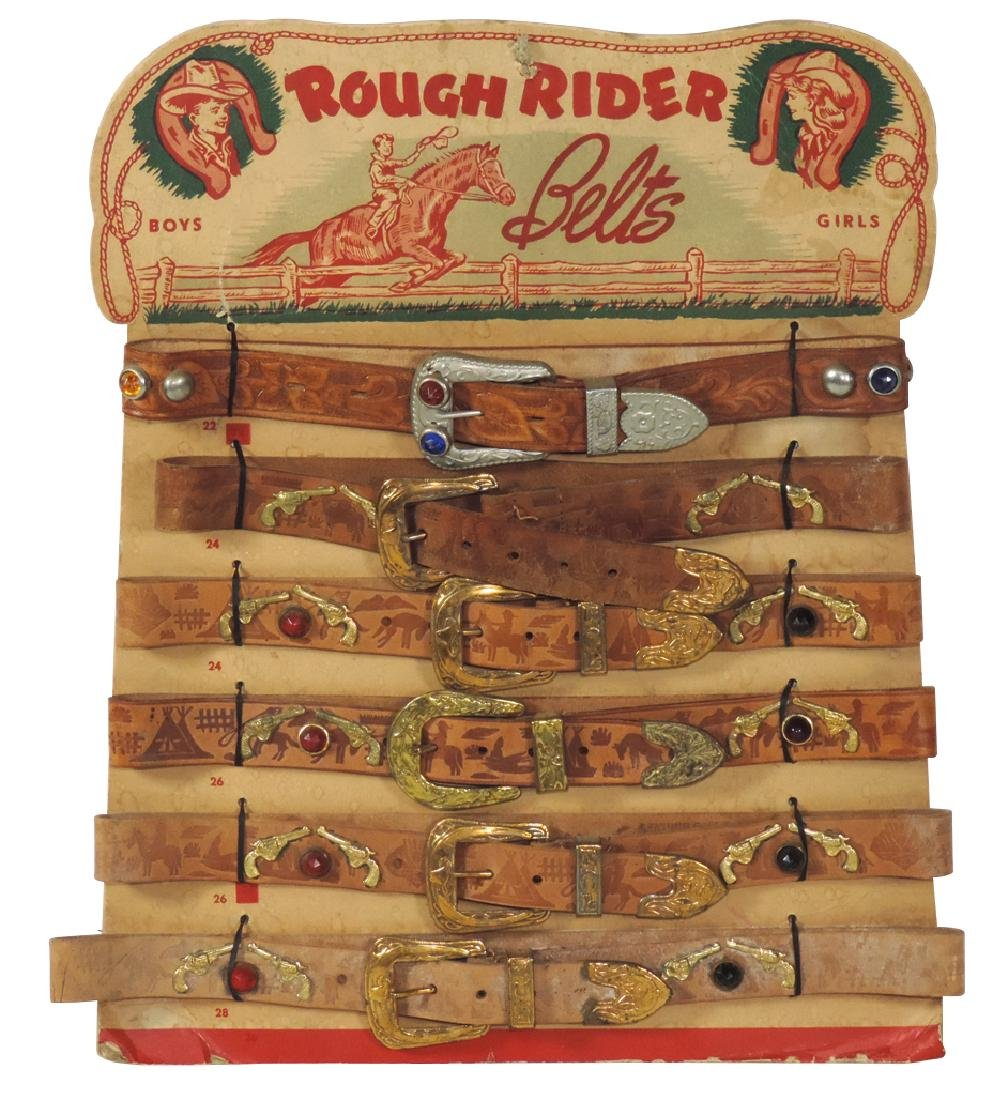 Children's belts, Rough Rider Belts for Boys & Girls,
