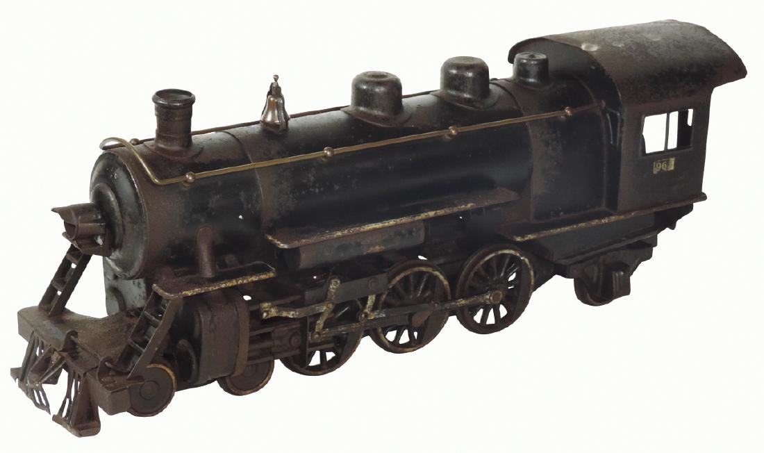 Toy train engine, Buddy L No. 963 (Hudson), cast iron &