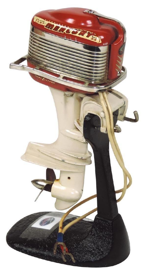 Toy boat motor, 1957 Mercury Mark 55 w/cast metal