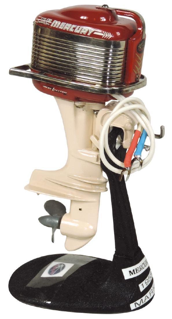Toy boat motor, 1958 Mercury Mark 55 w/cast metal