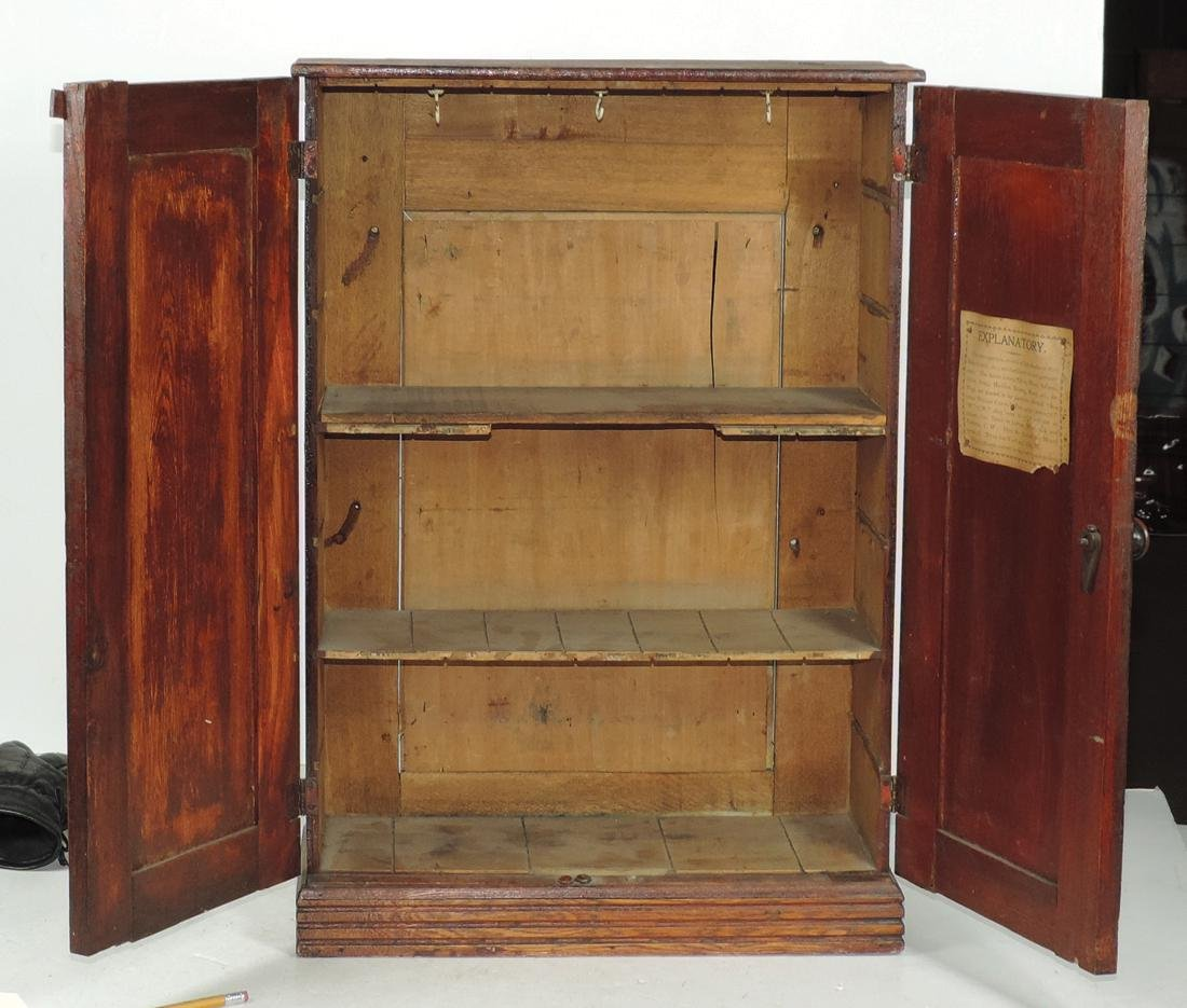 Country store Perfection Dyes cabinet, from W. Gushing - 2