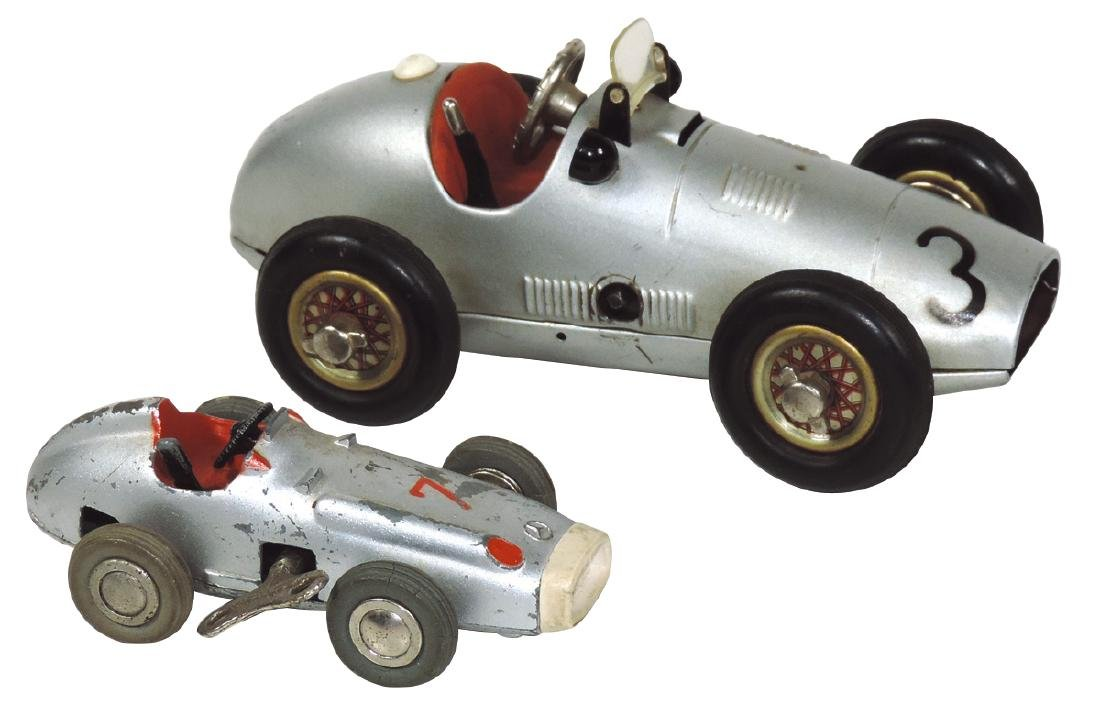 Toy race cars (2) Schuco #1070 Grand Prix Racer &
