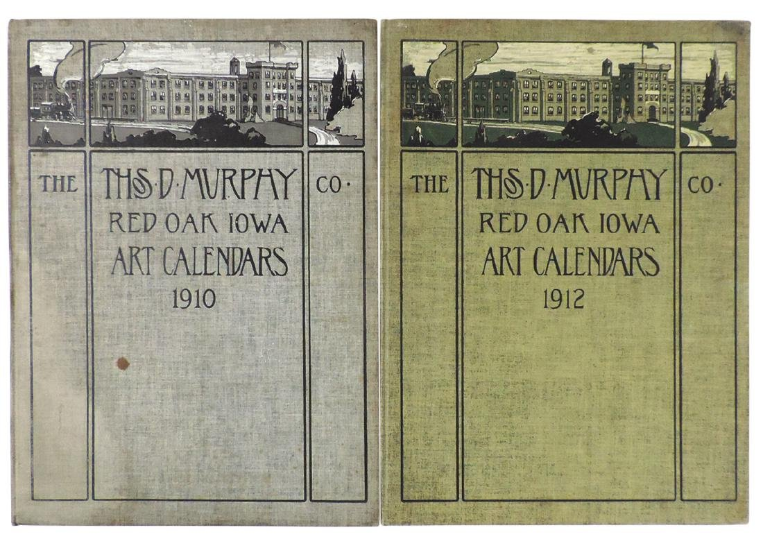 Salesman sample Art Calendar Books (2), The Thos. D.