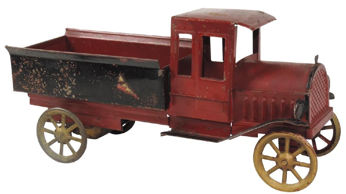 Toy, Model T delivery truck, pressed steel, possibly a