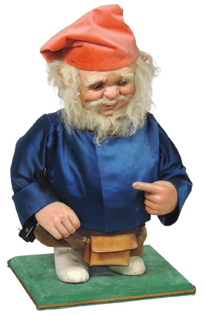 Automaton, gnome, possibly made in Germany for American