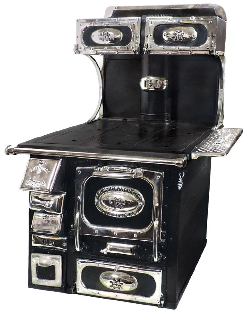 "Salesman sample or toy cook stove, ""The Range Eternal"