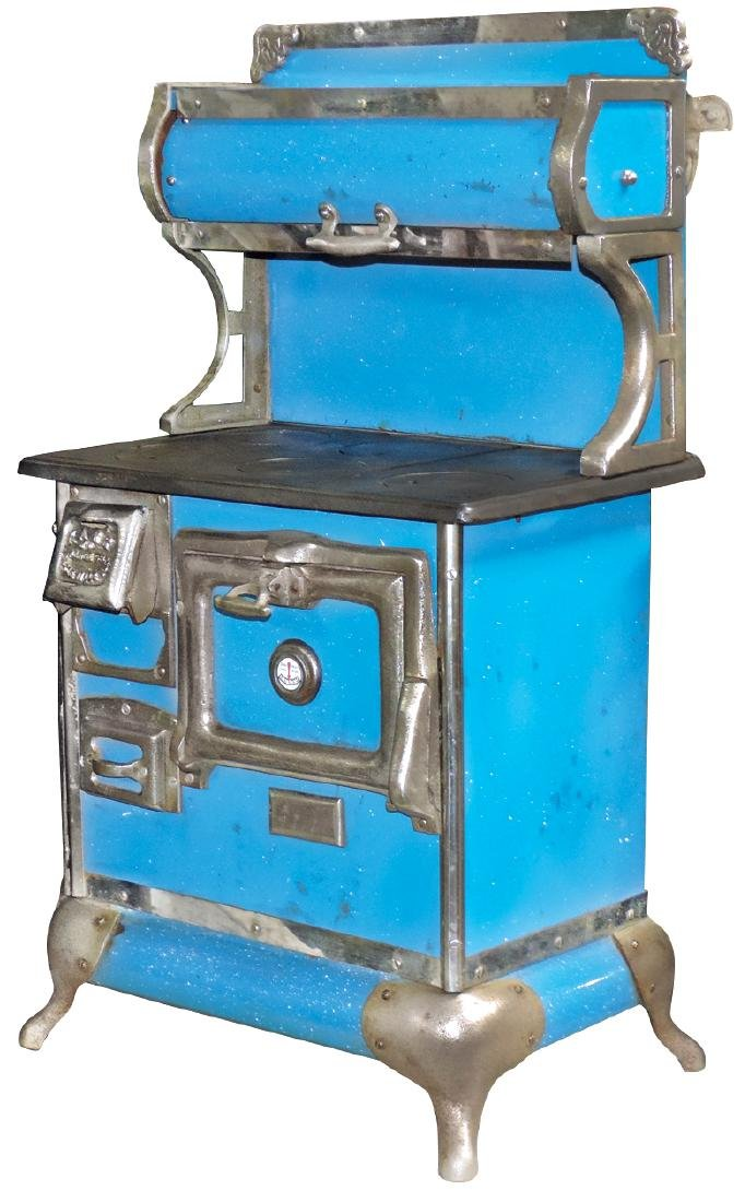 Salesman sample or toy cook stove, Karr Range