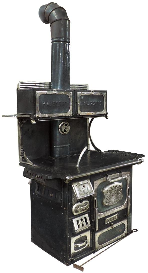 """Salesman sample or toy cook stove, """"The Great Majestic"""