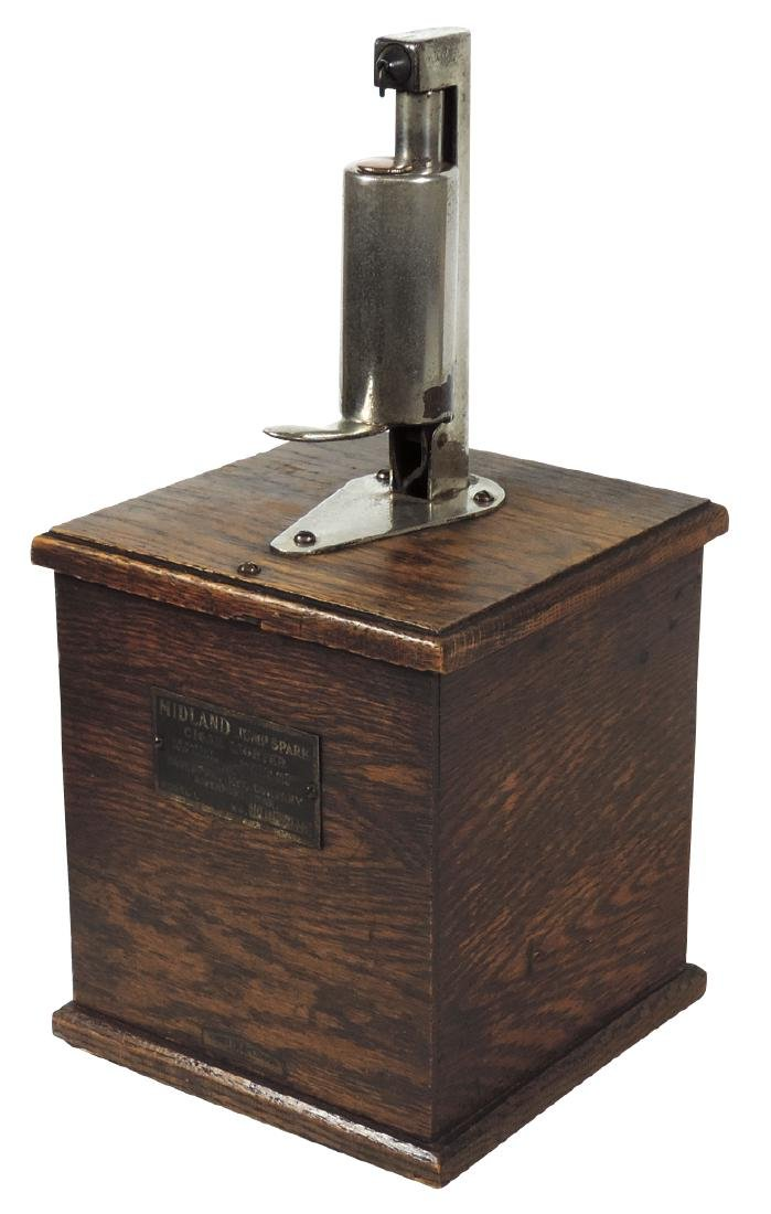 Cigar lighter, Midland Jump Spark, patd 1909 by the