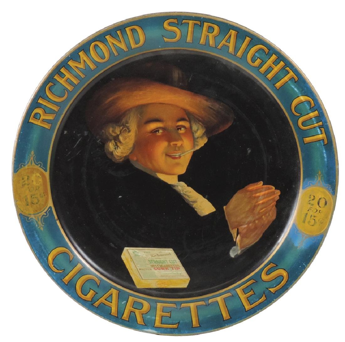 Tobacco charger, Richmond Straight Cut Cigarettes, 20