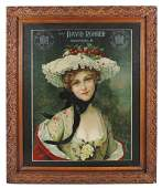 Breweriana advertising print, D. Rohrer Pure Rye &