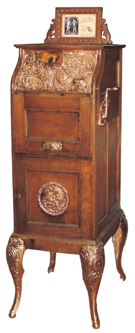Coin-operated machine, Caille Bros. Mutoscope,