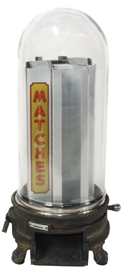 Coin-operated match dispenser, Advance Mfg.
