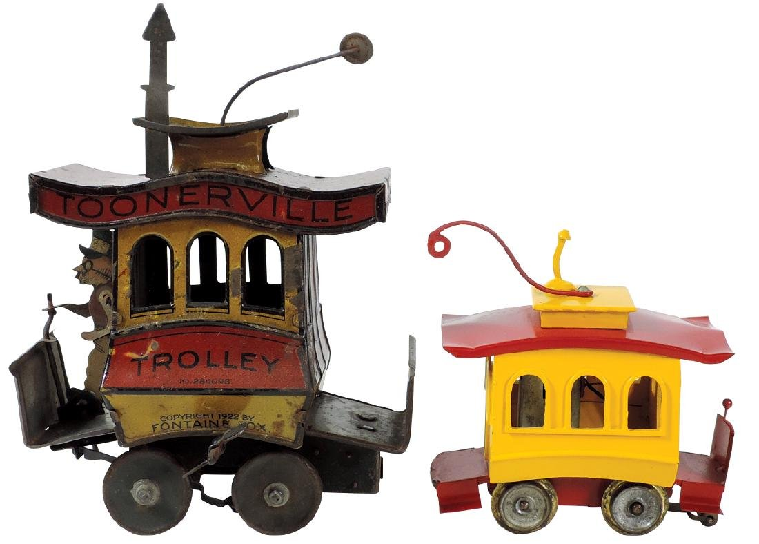 Toys tolleys (2), Toonerville Trolley, c.1922 by
