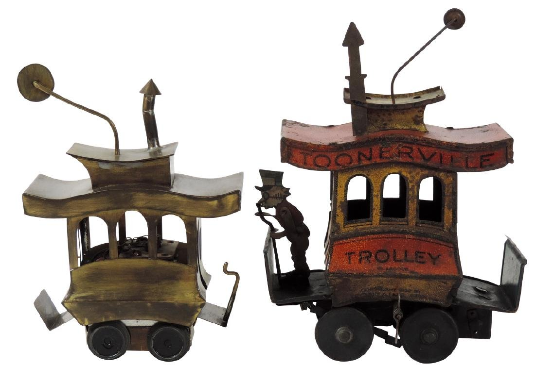 Toys trolleys (2), Toonerville Trolley, c.1922 by