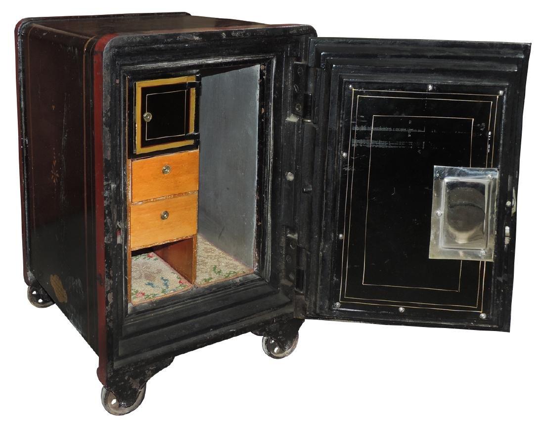Safe, Meilink's Deposit Vault Safe, cast iron w/fitted - 2