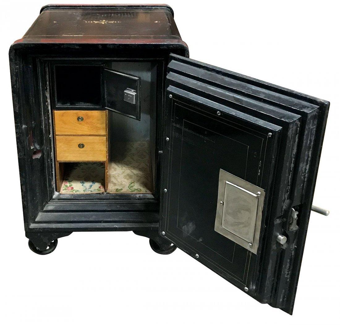 Safe, Meilink's Deposit Vault Safe, cast iron w/fitted - 3