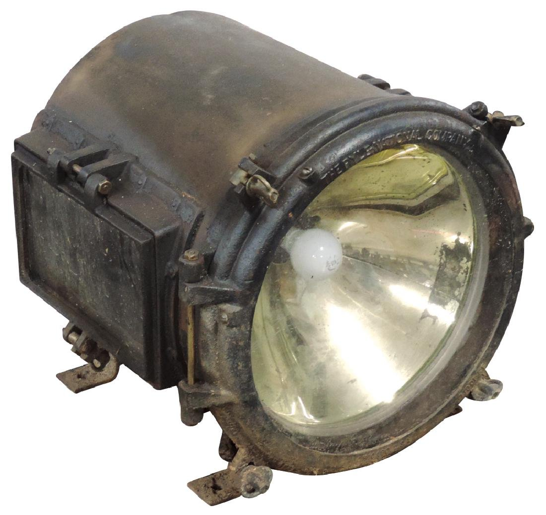 Railroad locomotive headlight, The Pyle National