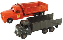 Toy trucks 2 Lumar US Army  Structo State HiWay