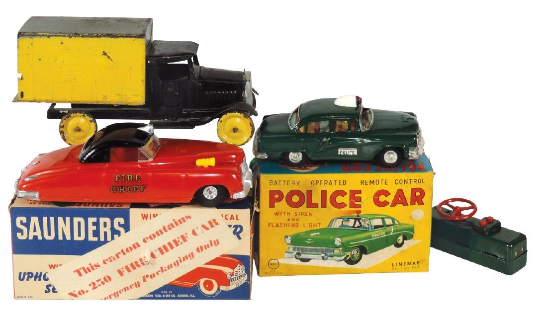 Toys (3), Linemar Battery-Operated Remote Control