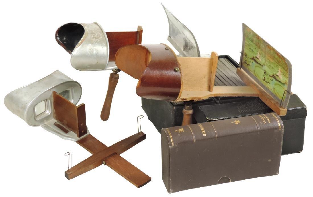 Stereoscopes & view cards, L5 U&U The Sculpture Viewer,