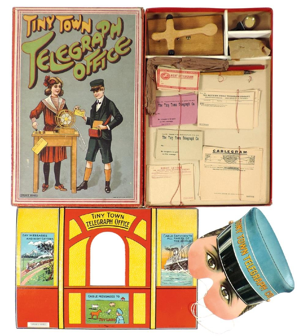 Game, Tiny Town Telegraph Office by Spear's