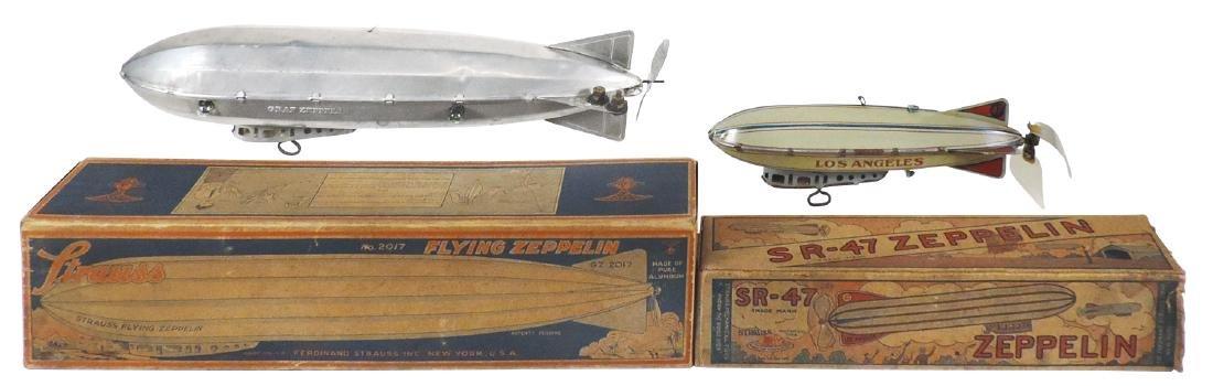 Toy zeppelins (2), Strauss SR-47 & Strauss Flying