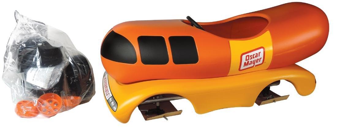 Children's pedal car, Oscar Mayer Wienermobile, molded