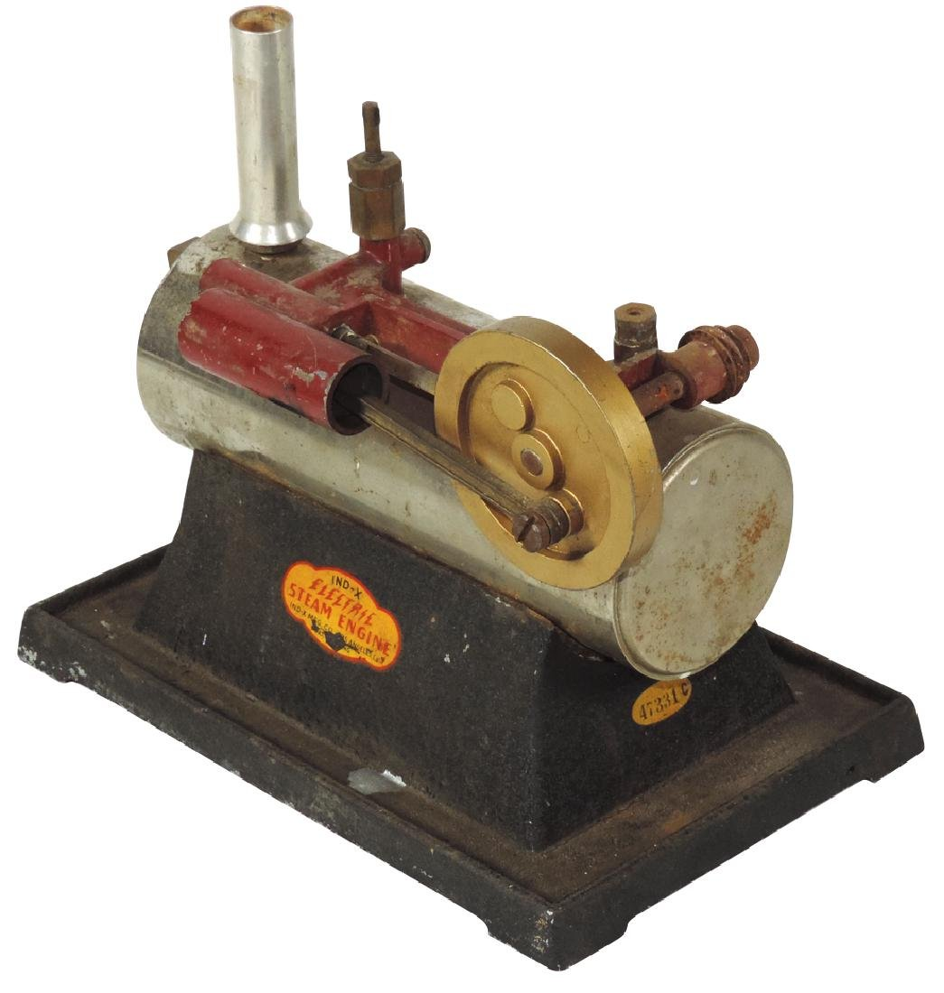 Steam toys (2), Jensen Mfg Co.-Jeanette, PA, steam - 2