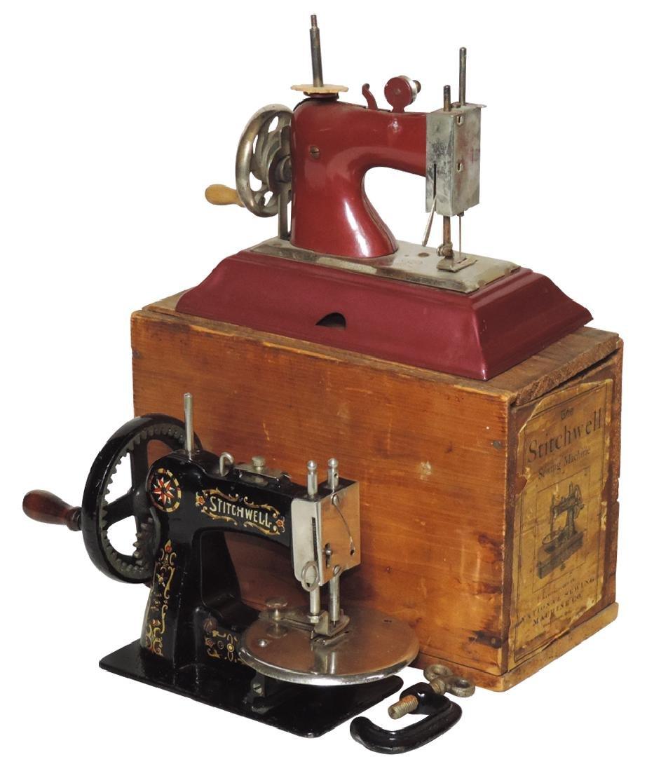 Children's sewing machines (2), Stitchwell w/clamp &