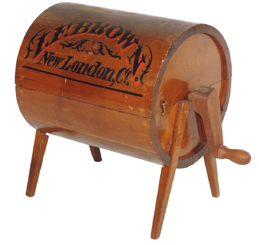 Salesman sample or patent model washer, I. F. Brown-New