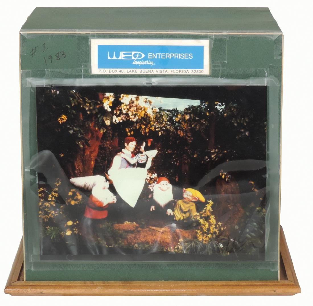 Disney character displays (2), Snow White & Gnome, WED - 2