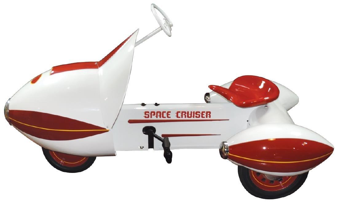 "Children's pedal car, Murray ""Space Cruiser"", heavy - 2"